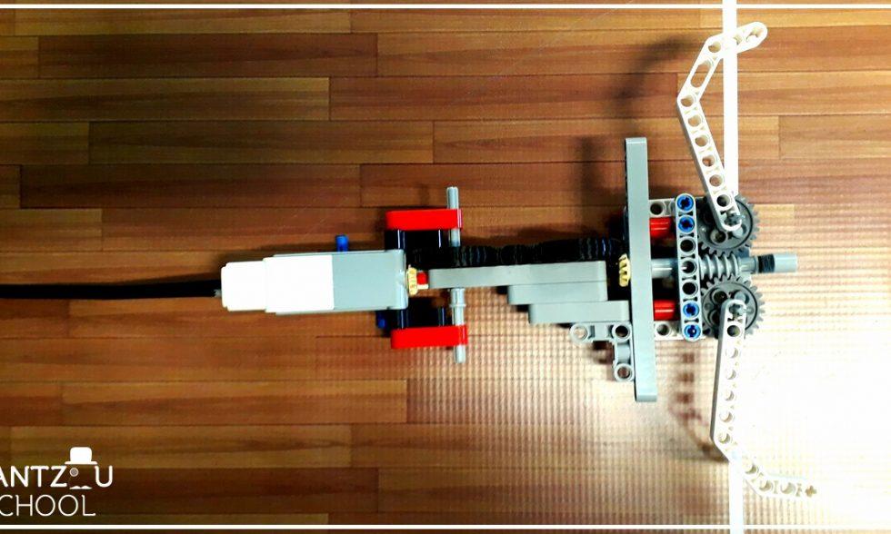 Ρομποτική δαγκάνα με EV3 Mindstorms